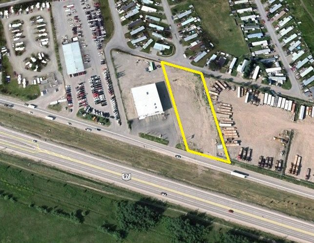 Main Photo: 8308 ALASKA Road in Fort St. John: Fort St. John - City SE Land Commercial for lease (Fort St. John (Zone 60))  : MLS®# C8023365