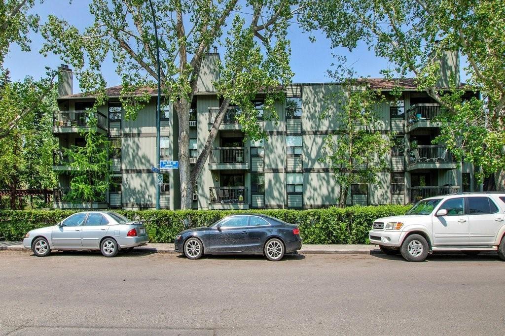 Main Photo: 401 626 24 Avenue SW in Calgary: Cliff Bungalow Apartment for sale : MLS®# C4248389