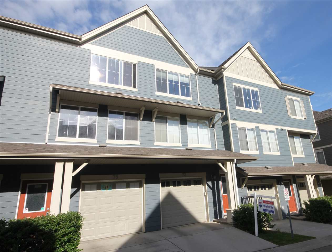 Main Photo: 73 603 WATT Boulevard in Edmonton: Zone 53 Townhouse for sale : MLS®# E4159843