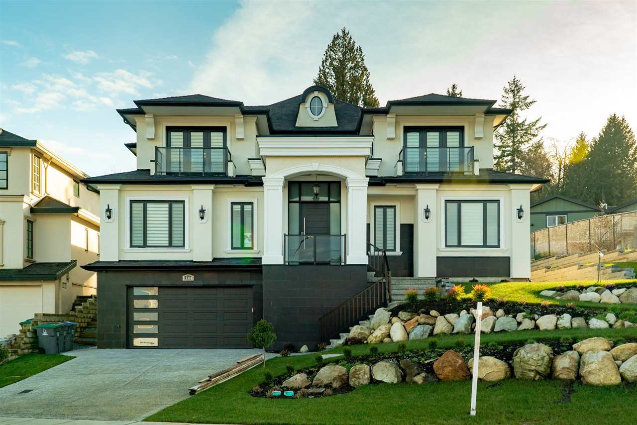 Amazing street appeal due to grand design & 80 foot frontage! This home sits high like your very own castle on a hill!