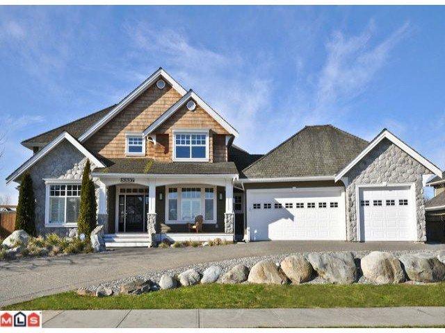 "Main Photo: 3337 164A Street in Surrey: Morgan Creek House for sale in ""Morgan Creek"" (South Surrey White Rock)  : MLS®# F1118770"