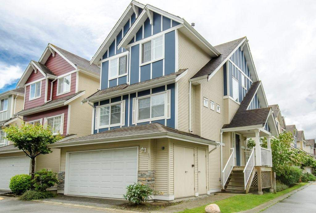 Main Photo: 57 1108 RIVERSIDE Close in Port Coquitlam: Riverwood Townhouse for sale : MLS®# R2080591
