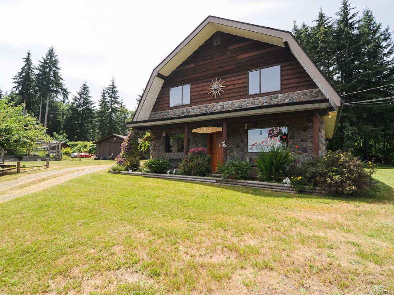 Main Photo: 5083 BEAUFORT ROAD in FANNY BAY: CV Union Bay/Fanny Bay House for sale (Comox Valley)  : MLS®# 736353
