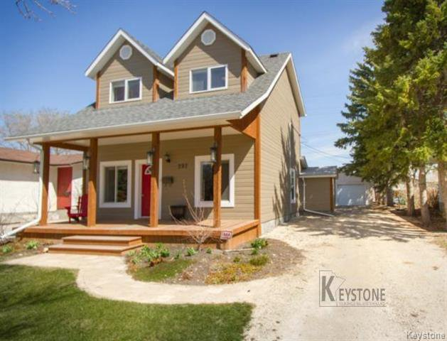 Main Photo: 297 Knowles Avenue in Winnipeg: North Kildonan Residential for sale (3G)  : MLS®# 1809527