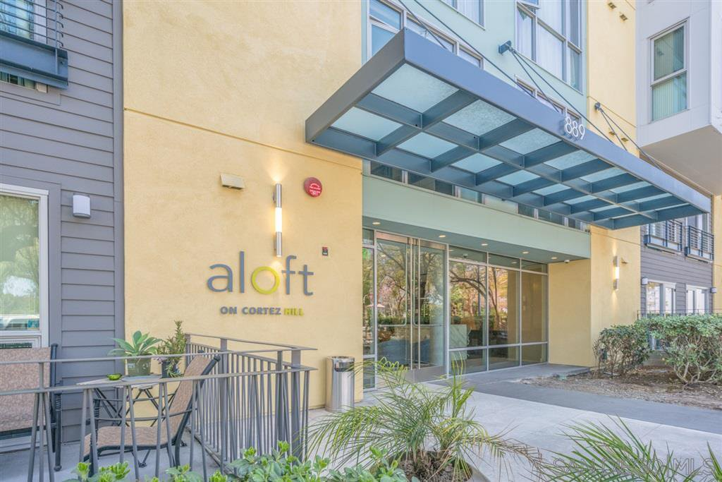 Main Photo: DOWNTOWN Condo for rent : 1 bedrooms : 889 Date Street #438 in San Diego