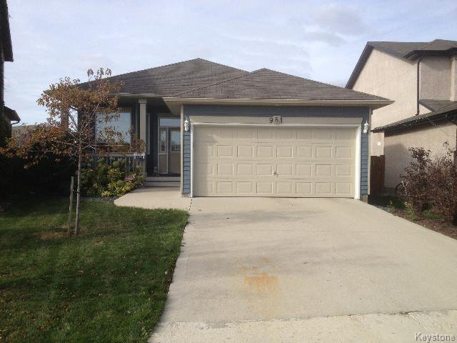 Main Photo: 981 Aldgate Road in WINNIPEG: St Vital Residential for sale (South East Winnipeg)  : MLS®# 1519891