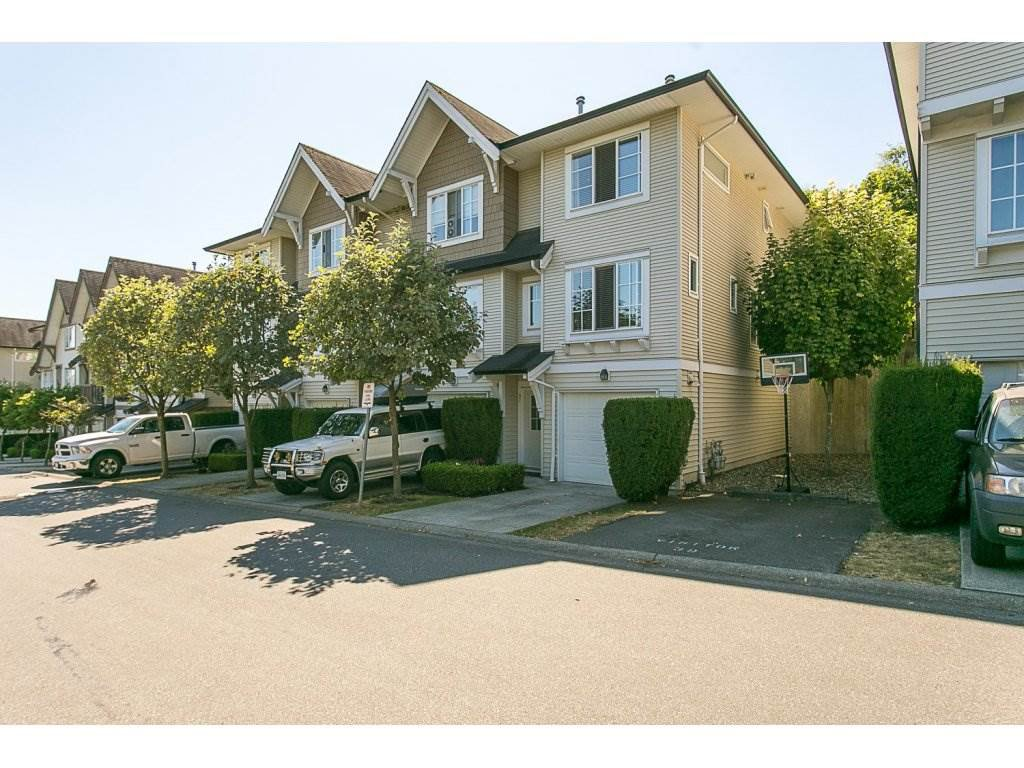 "Main Photo: 97 20540 66 Avenue in Langley: Willoughby Heights Townhouse for sale in ""Amberleigh"" : MLS®# R2098835"
