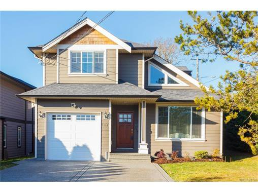 Main Photo: 1116 Knibbs Pl in VICTORIA: SW Strawberry Vale House for sale (Saanich West)  : MLS®# 749384