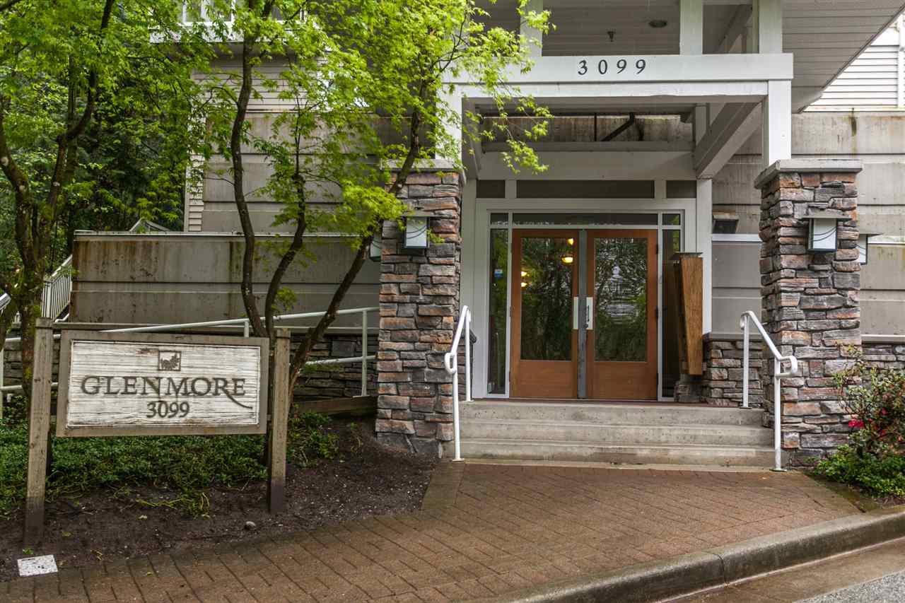 "Main Photo: 205 3099 TERRAVISTA Place in Port Moody: Port Moody Centre Condo for sale in ""THE GLENMORE"" : MLS®# R2164042"