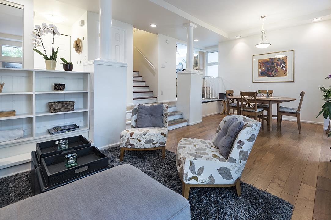 Main Photo: 3573 W 6TH Avenue in Vancouver: Kitsilano House 1/2 Duplex for sale (Vancouver West)  : MLS®# R2166399