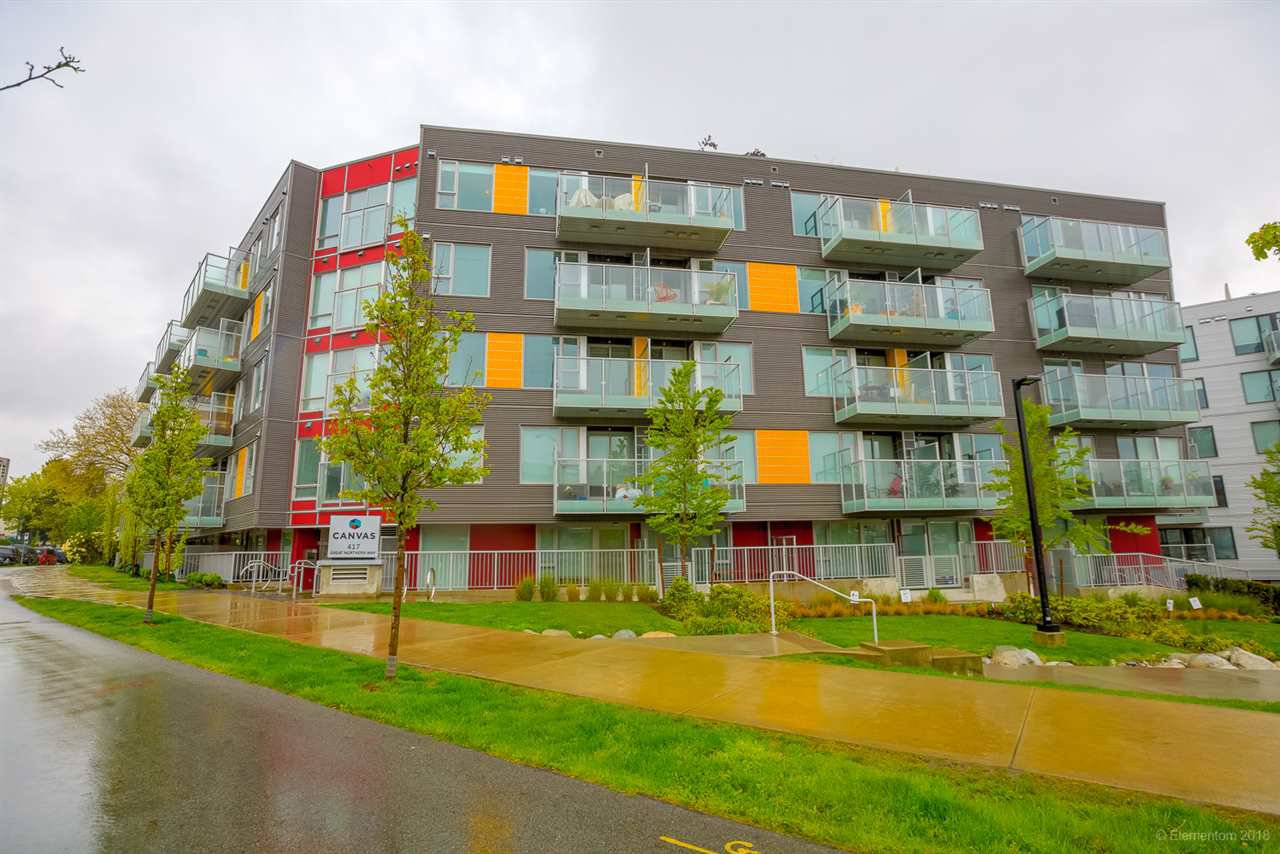 "Main Photo: 110 417 GREAT NORTHERN WAY in Vancouver: Mount Pleasant VE Condo for sale in ""CANVAS"" (Vancouver East)  : MLS®# R2277364"