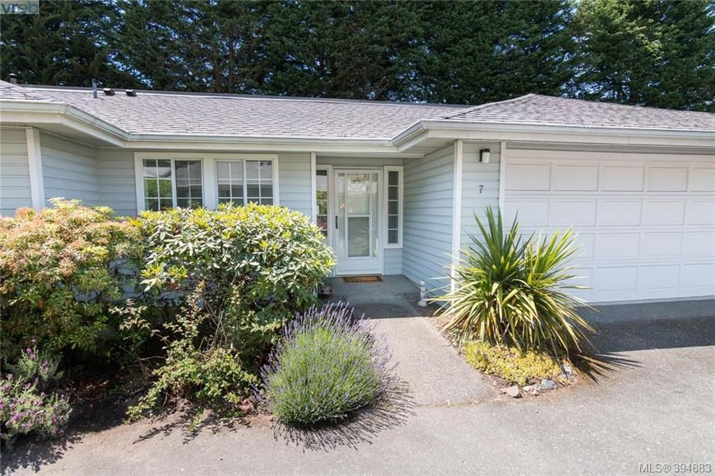 Main Photo: 7 3966 Cedar Hill Cross Road in VICTORIA: SE Maplewood Townhouse for sale (Saanich East)  : MLS®# 394883