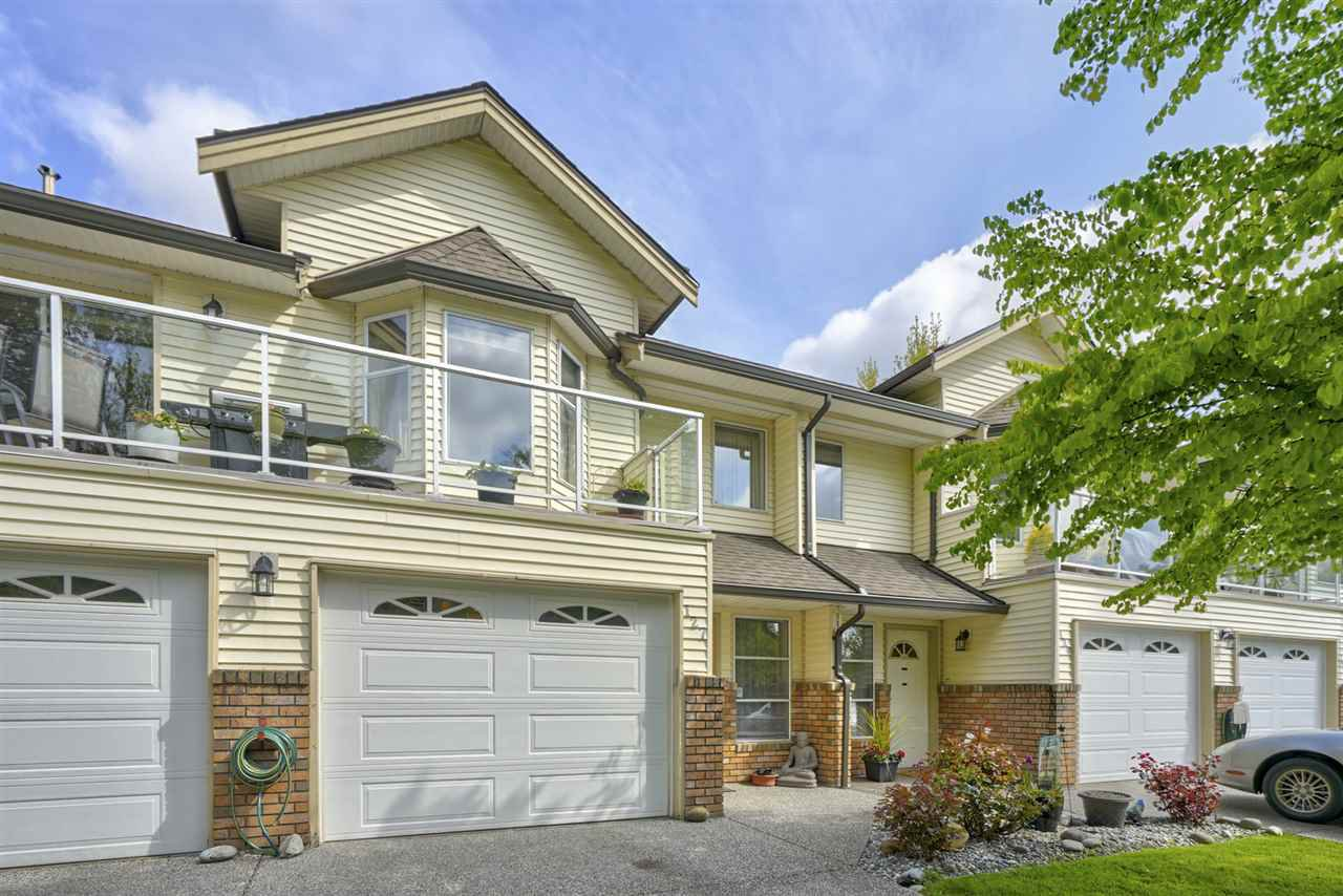 "Main Photo: 127 6841 138 Street in Surrey: East Newton Townhouse for sale in ""Hyland Creek Village"" : MLS®# R2361601"