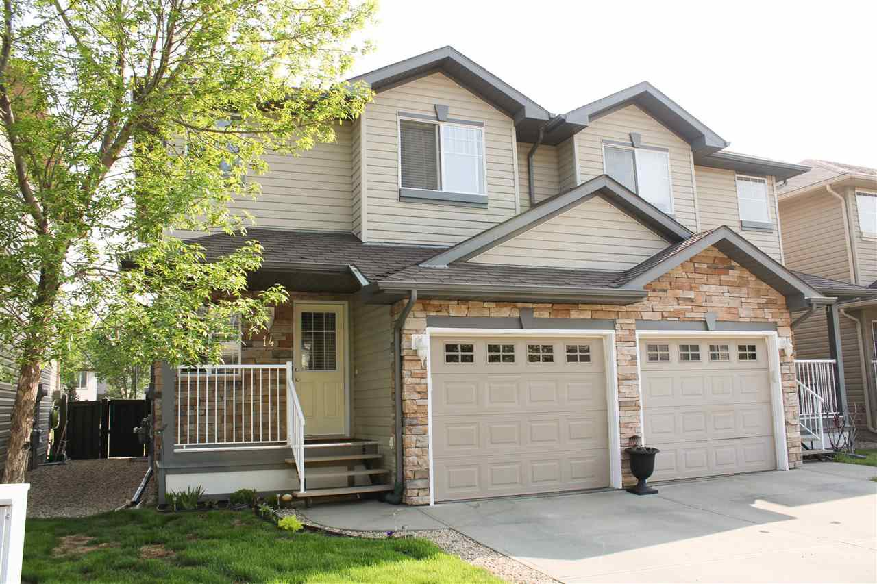 Main Photo: 14 12104 16 Avenue in Edmonton: Zone 55 House Half Duplex for sale : MLS®# E4159662