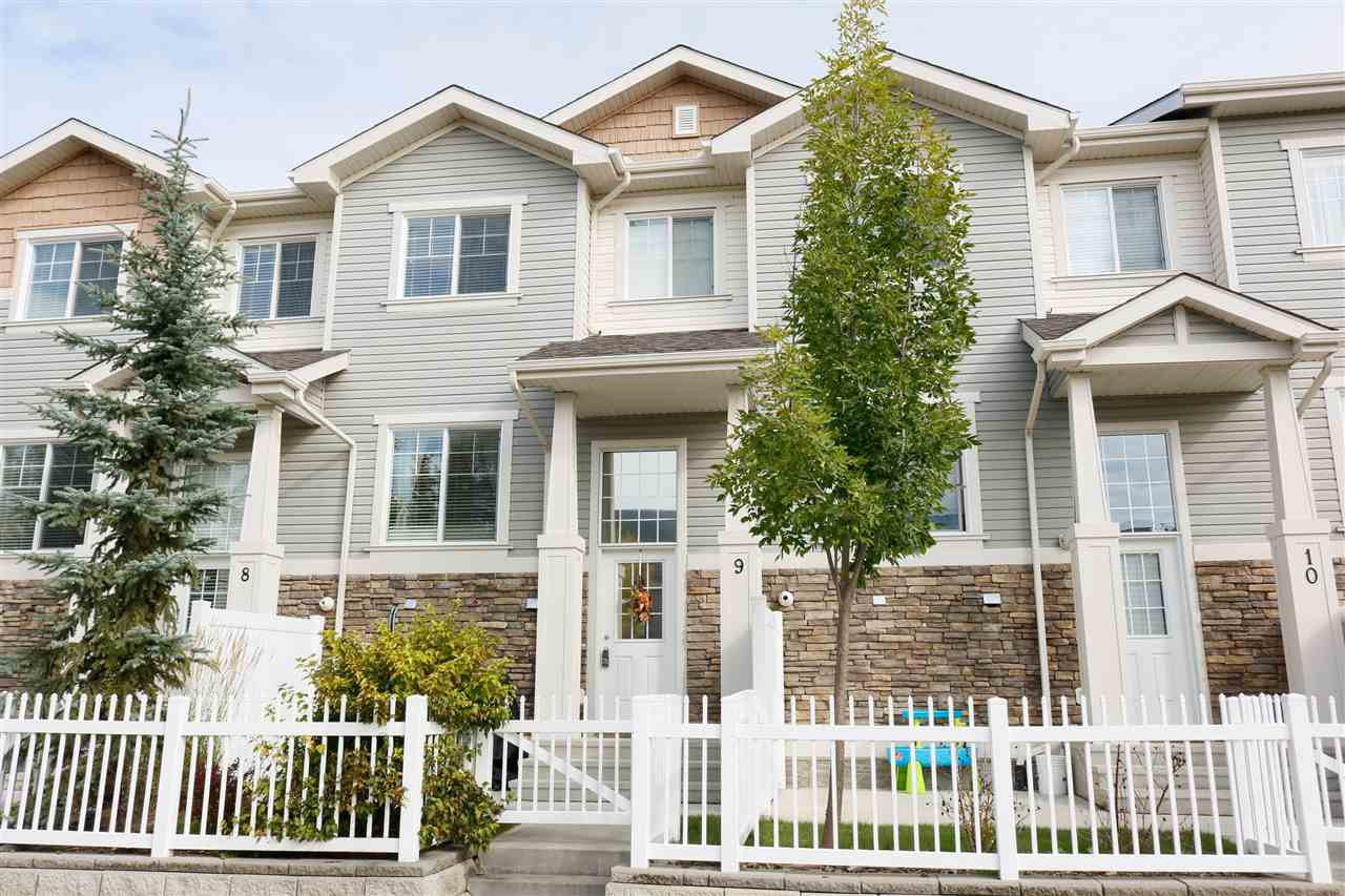 Main Photo: 9 4825 TERWILLEGAR Common NW in Edmonton: Zone 14 Townhouse for sale : MLS®# E4174398