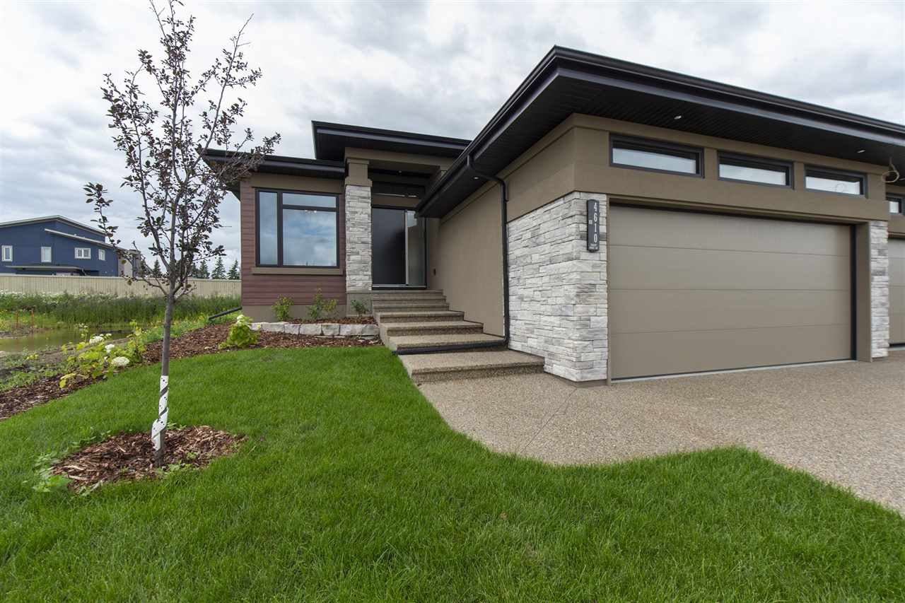Main Photo: 4610 Knight Point in Edmonton: Zone 56 House Half Duplex for sale : MLS®# E4179759