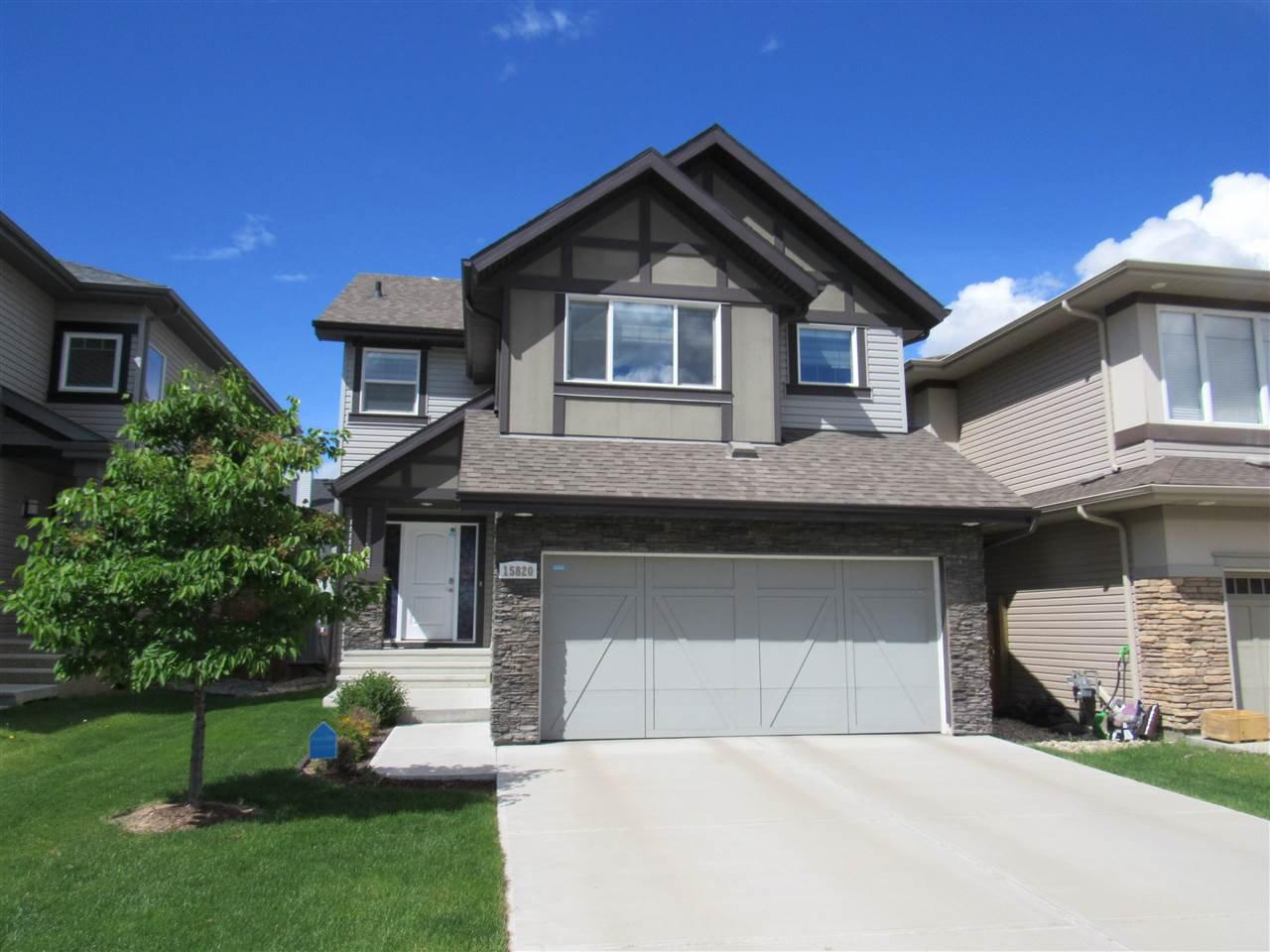 Main Photo: 15820 11 Avenue in Edmonton: Zone 56 House for sale : MLS®# E4200428