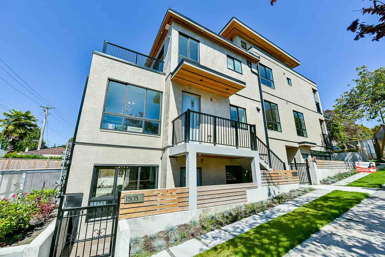 Main Photo: 1505 W 60TH Avenue in Vancouver: South Granville Townhouse for sale (Vancouver West)  : MLS®# R2484763