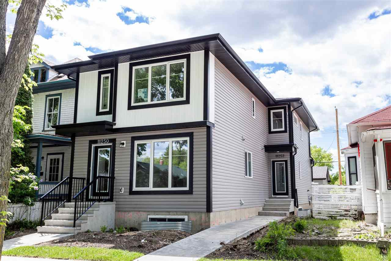 Main Photo: 11252 93 Street in Edmonton: Zone 05 House Half Duplex for sale : MLS®# E4217752