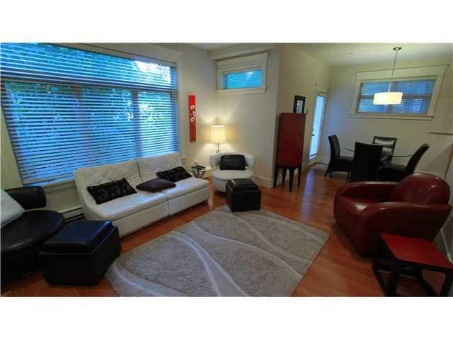 Main Photo: 1516 Graveley Street in Vancouver: Grandview VE Townhouse for sale (Vancouver East)  : MLS®# v971619