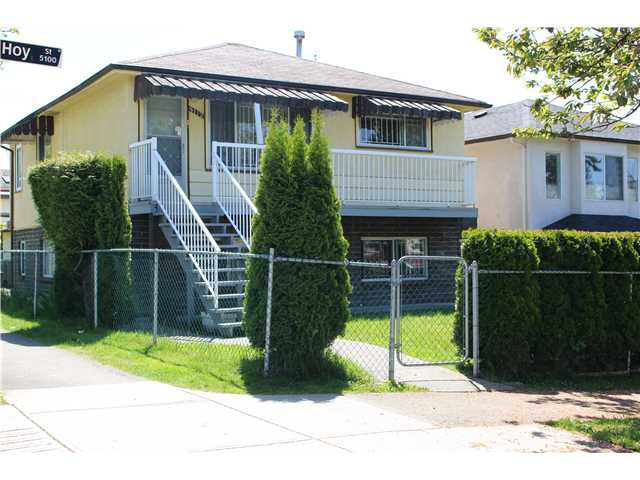 Main Photo: 5112 HOY Street in Vancouver: Collingwood VE House for sale (Vancouver East)  : MLS®# V1065249