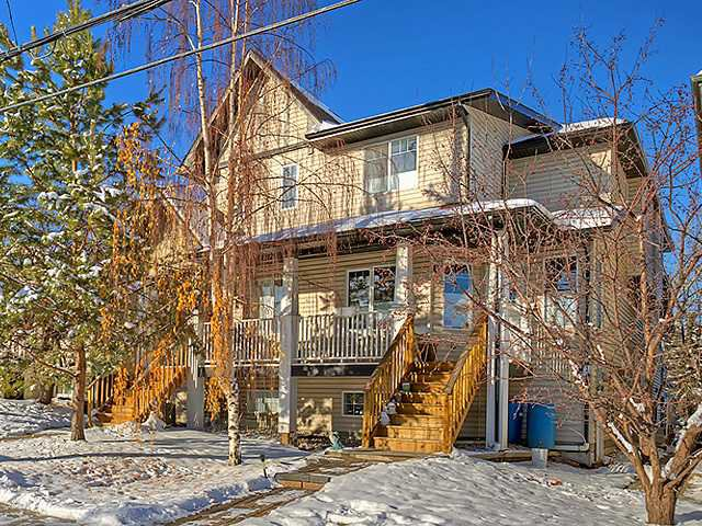 Main Photo: B 26 34 Avenue SW in Calgary: Erlton Townhouse for sale : MLS®# C3644090
