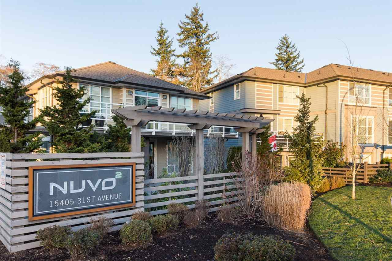 "Main Photo: 40 15405 31 Avenue in Surrey: Grandview Surrey Townhouse for sale in ""Nuvo 2"" (South Surrey White Rock)  : MLS®# R2018076"