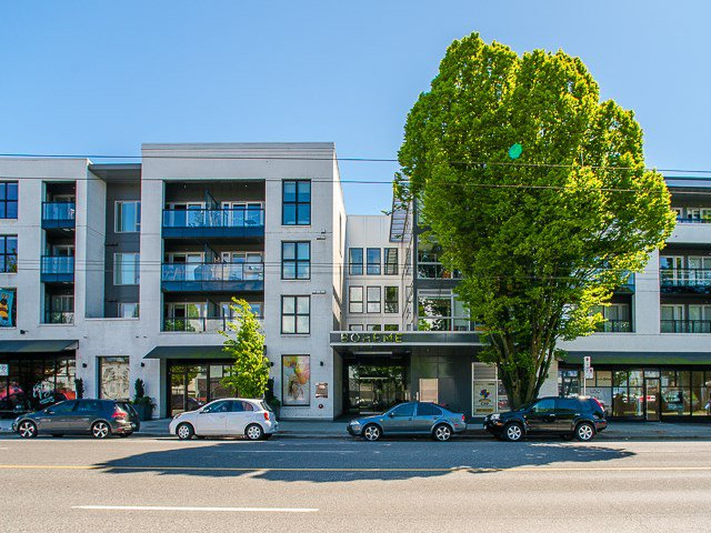 """Main Photo: 424 1588 E HASTINGS Street in Vancouver: Hastings Condo for sale in """"Boheme"""" (Vancouver East)  : MLS®# R2164090"""