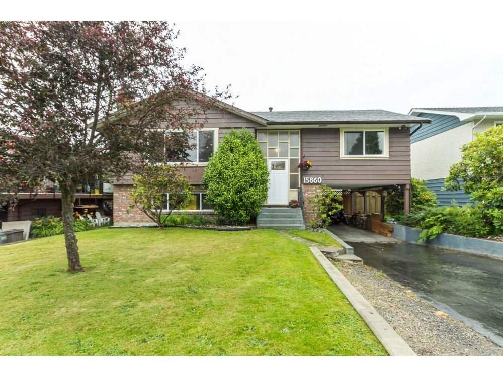 Main Photo: 15860 GOGGS AVENUE in South Surrey White Rock: Home for sale : MLS®# R2087988