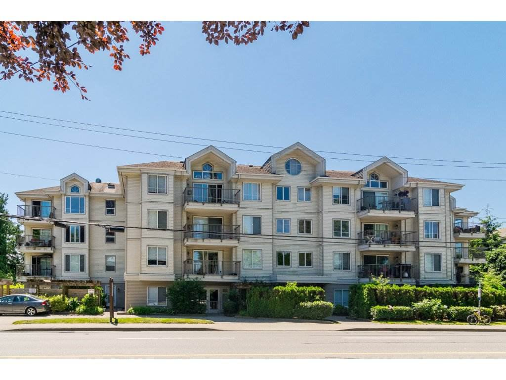 "Main Photo: 106 33502 GEORGE FERGUSON Way in Abbotsford: Central Abbotsford Condo for sale in ""Carina Court"" : MLS®# R2262879"