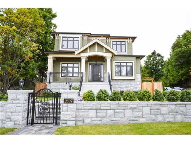 Main Photo: 2307 W 45TH Avenue in Vancouver: Kerrisdale House for sale (Vancouver West)  : MLS®# R2342286