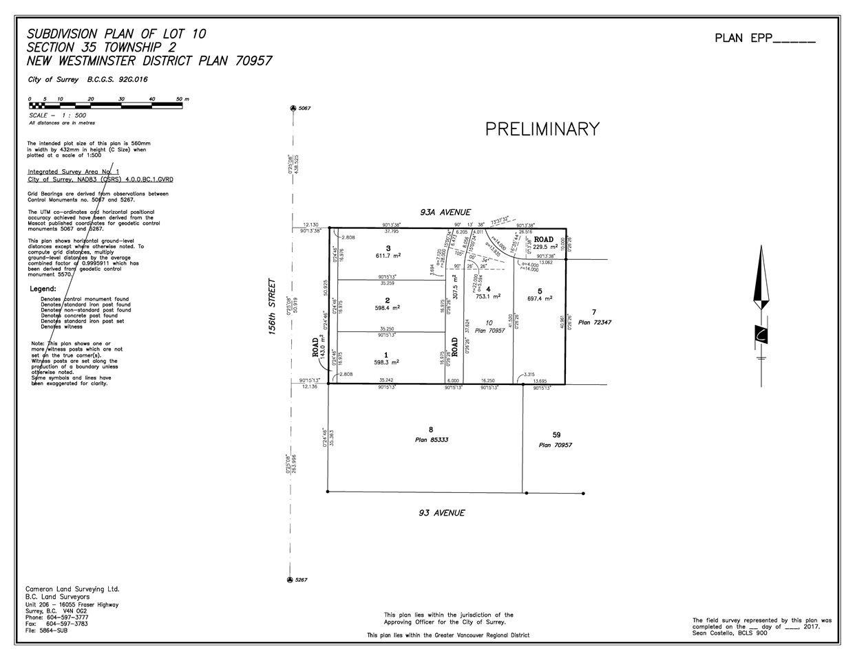 Main Photo: LT.1 9350 156 Street in Surrey: Fleetwood Tynehead Land for sale : MLS®# R2350033