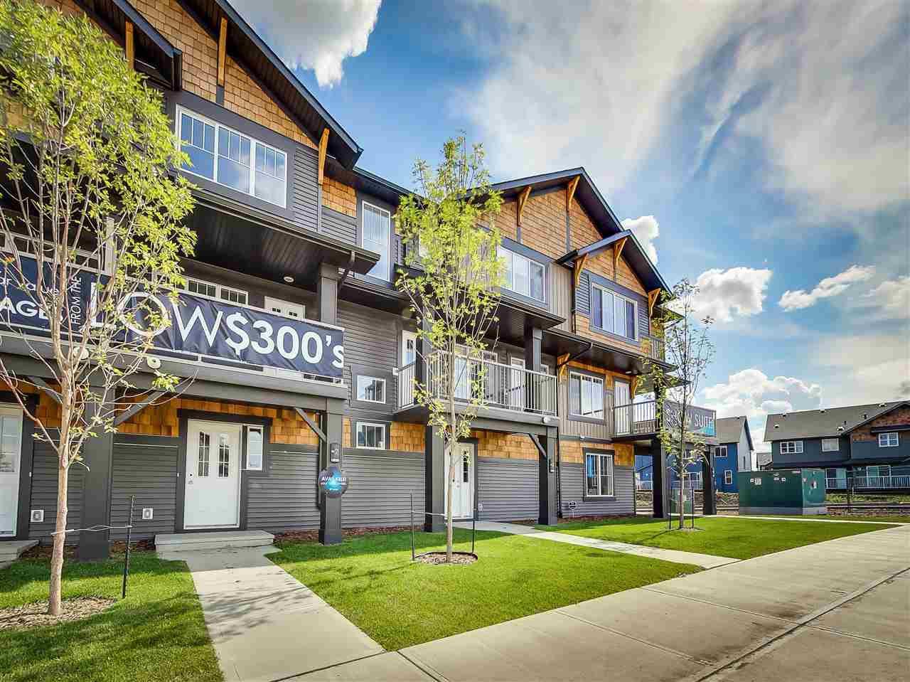 Main Photo: 70 1005 Graydon Hill Boulevard in Edmonton: Zone 55 Townhouse for sale : MLS®# E4149052