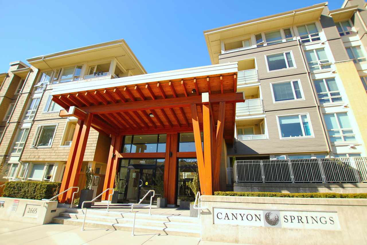 "Main Photo: 318 2665 MOUNTAIN Highway in North Vancouver: Lynn Valley Condo for sale in ""CANYON SPRINGS"" : MLS®# R2381285"
