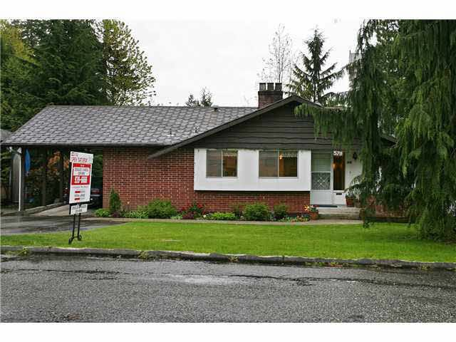 Main Photo: 570 BROOKMERE AVENUE in : Coquitlam West House for sale : MLS®# V823942