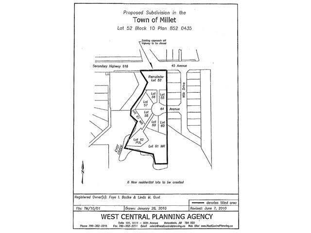 Main Photo: 5201 45 Avenue: Millet House for sale : MLS®# E4173481