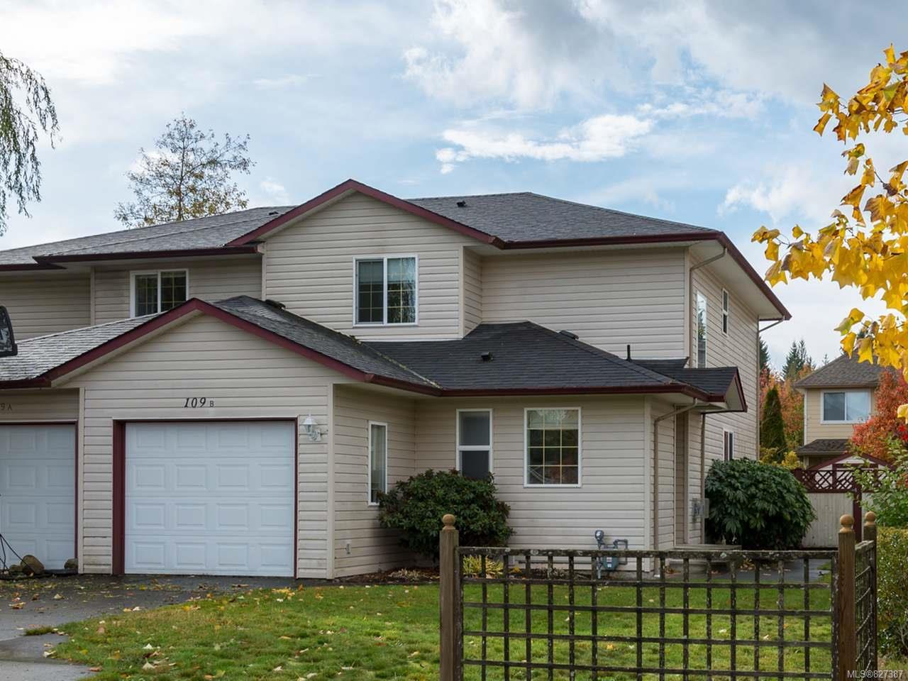 Main Photo: B 109 Timberlane Rd in COURTENAY: CV Courtenay West Half Duplex for sale (Comox Valley)  : MLS®# 827387