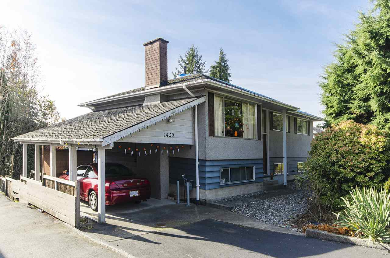 Main Photo: 1420 DANSEY Avenue in Coquitlam: Central Coquitlam House for sale : MLS®# R2418241