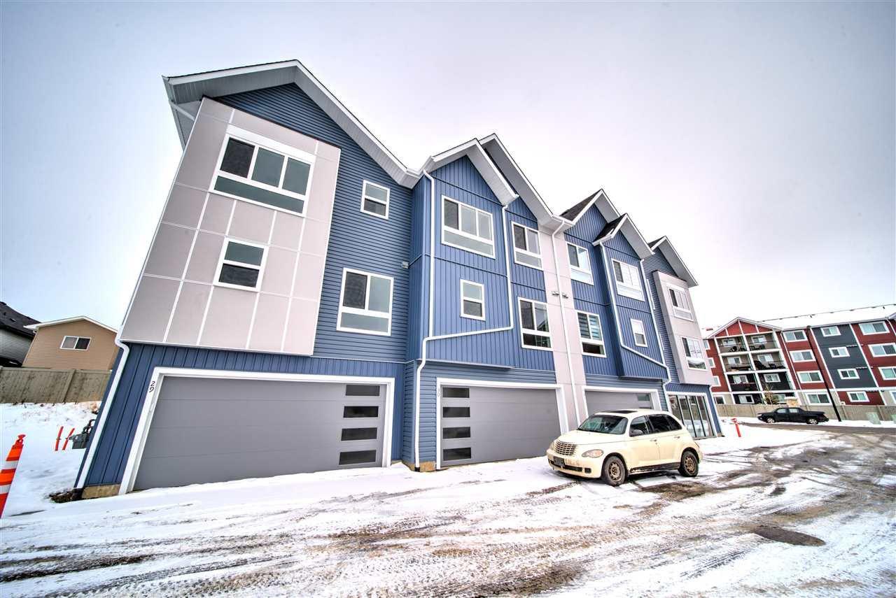 Main Photo: #29 979 Crystallina Nera Way in Edmonton: Zone 28 Townhouse for sale : MLS®# E4206579