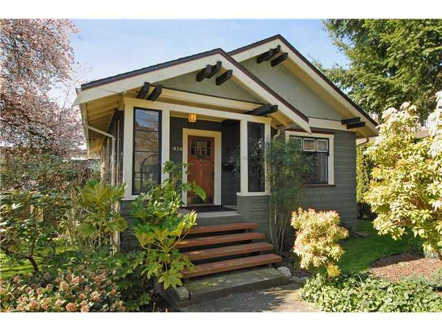 Main Photo: 416 10TH Street in New Westminster: Uptown NW House for sale : MLS®# V999379