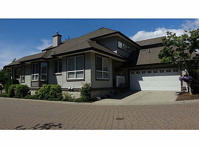 "Main Photo: 45 8250 158 Street in Surrey: Fleetwood Tynehead Townhouse for sale in ""Montrose"" : MLS®# F1447252"