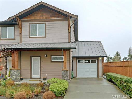 Main Photo: 9 1893 Prosser Road in SAANICHTON: CS Saanichton Townhouse for sale (Central Saanich)  : MLS®# 375240