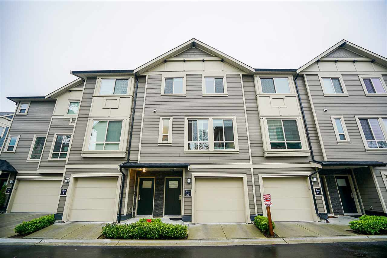 """Main Photo: 10 19913 70 Avenue in Langley: Willoughby Heights Townhouse for sale in """"The Brooks"""" : MLS®# R2241267"""