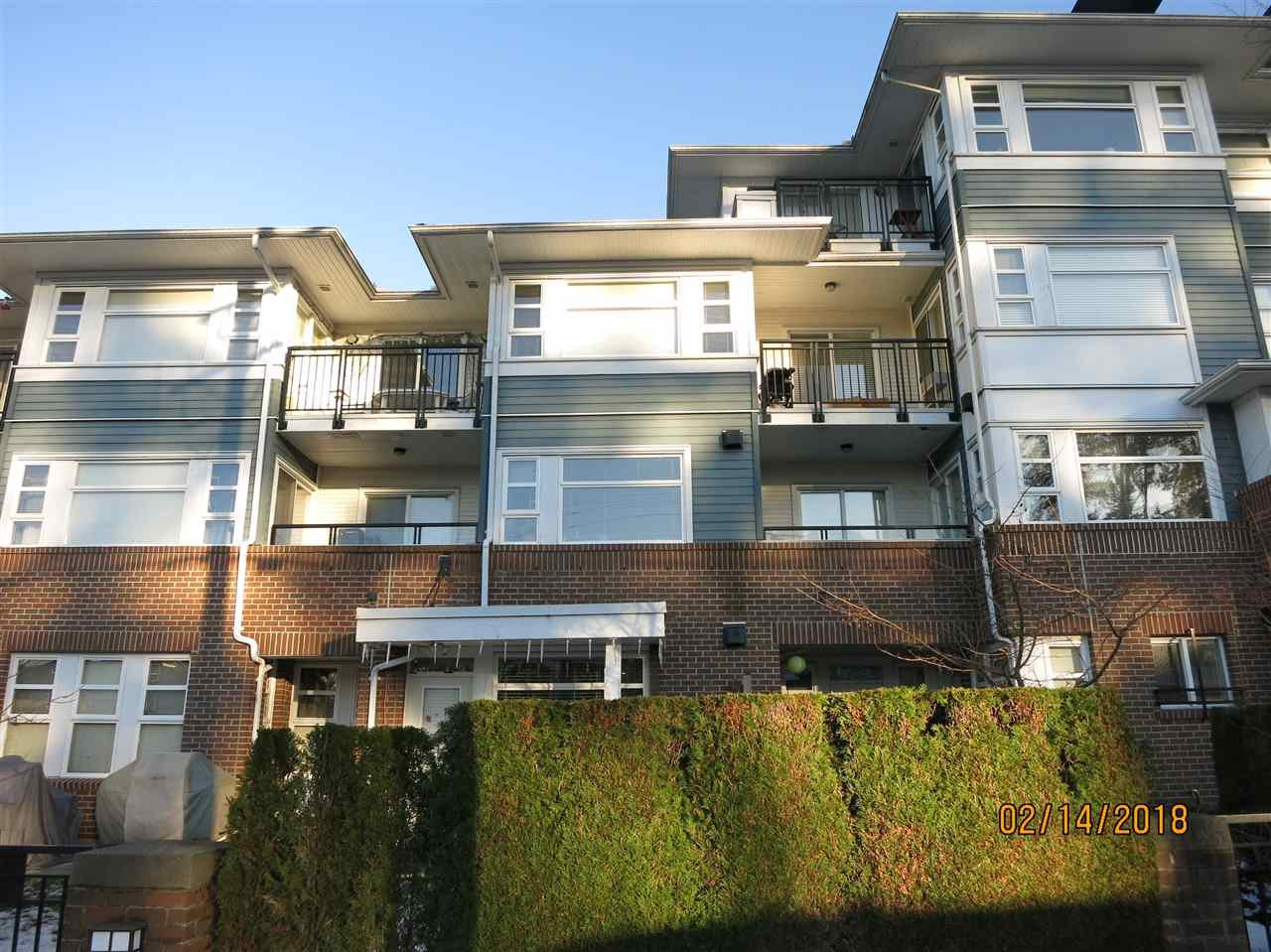 Main Photo: 102 6508 DENBIGH AVENUE in Burnaby: Forest Glen BS Condo for sale (Burnaby South)  : MLS®# R2239606