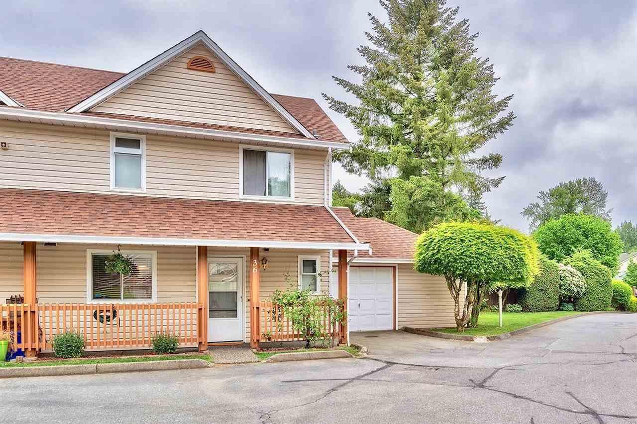 Main Photo: 36 20699 120B Avenue in Maple Ridge: Northwest Maple Ridge Townhouse for sale : MLS®# R2269955