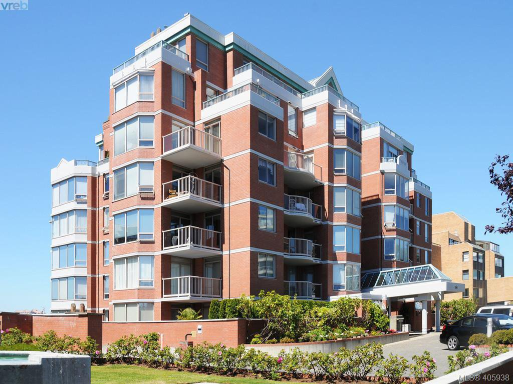 Main Photo: 803 636 MONTREAL Street in VICTORIA: Vi James Bay Condo Apartment for sale (Victoria)  : MLS®# 405938