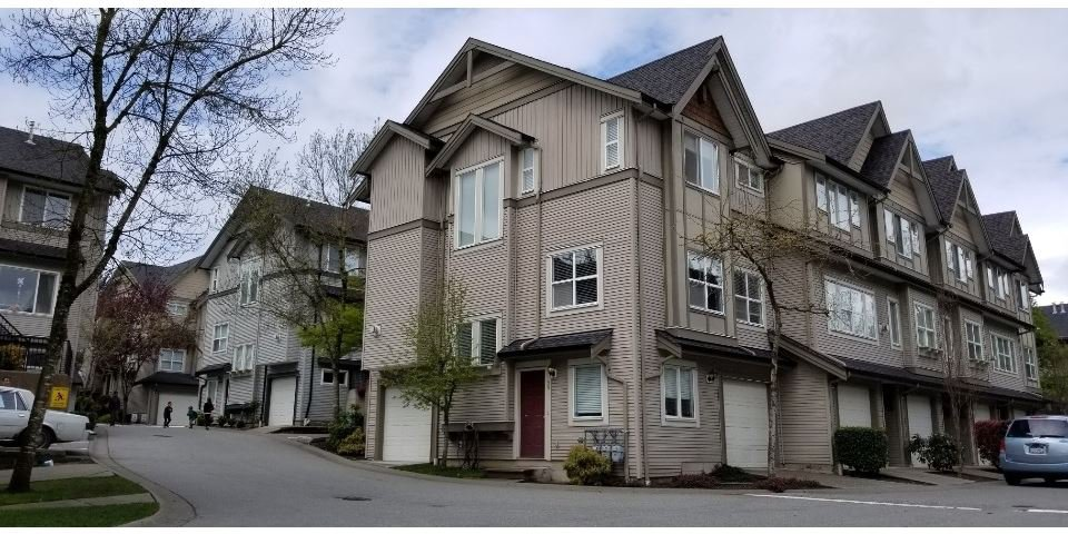 "Main Photo: 59 8737 161 Street in Surrey: Fleetwood Tynehead Townhouse for sale in ""Boardwalk"" : MLS®# R2361991"