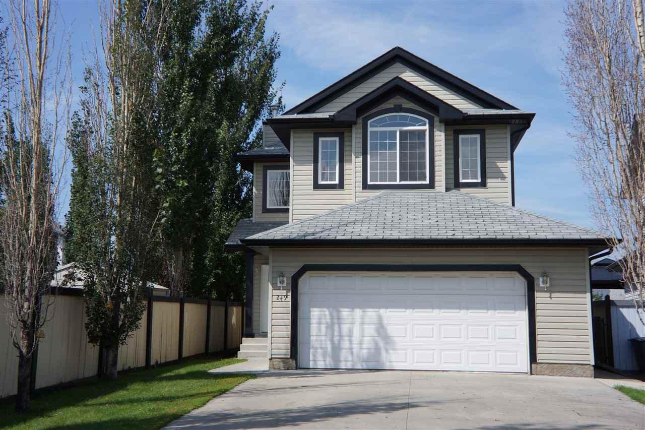 Main Photo: 249 WESTWOOD Lane: Fort Saskatchewan House for sale : MLS®# E4168278