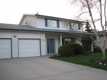 Main Photo: 115 Shier Drive: Residential for sale (Charleswood)  : MLS®# 2619613