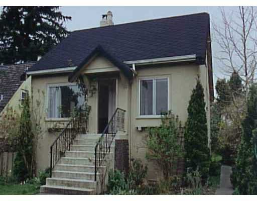 Main Photo: 3947 W KING EDWARD AV in : Dunbar House for sale (Vancouver West)  : MLS®# V349287